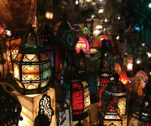 arab, light, and arabic image