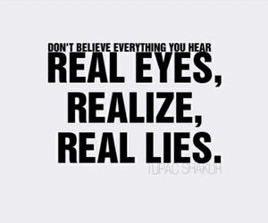 real, quotes, and lies image