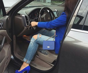 bag, classy, and luxury car image