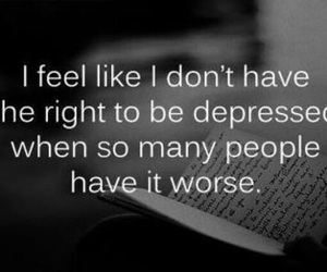 depressed, sad, and quotes image