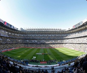 real madrid, santiago bernabeu, and hala madrid image