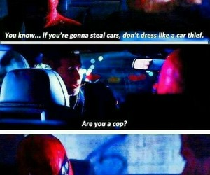 funny, Marvel, and spiderman image