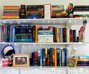 book, books, and bookshelf image