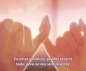 amor, anime, and frases image