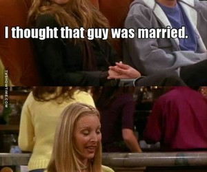 phoebe, quotes, and ross image