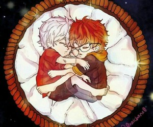 707, unknowns, and mystic messenger image