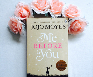 book, cover, and flowers image