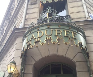 laduree, paris, and tumblr image