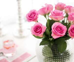girly, interiors, and pink image