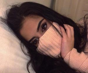 eyebrows, fashion, and hair image