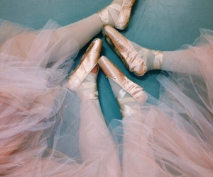 dance, pink, and teal image