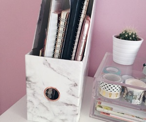 nice, notebook, and pink image