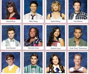 glee and mercedes image