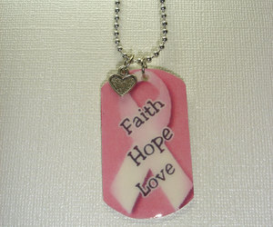 chain, necklace, and faith image