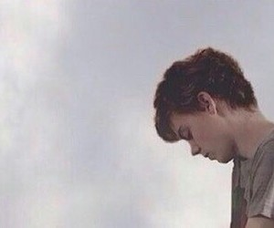 boy, newt, and the maze runner image