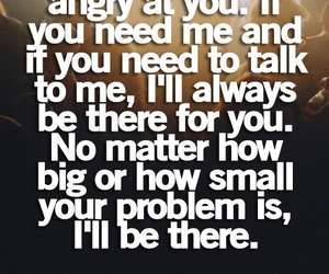 quotes, problem, and friends image