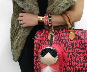 bag, bolso, and bracelets image
