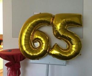 birthday, dorado, and ballon image