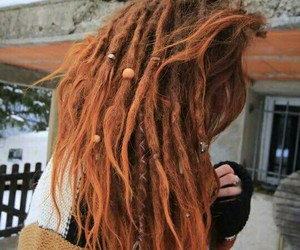 beads, dreadlocks, and dreads image