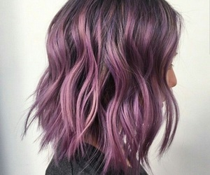 hair, purple, and color image