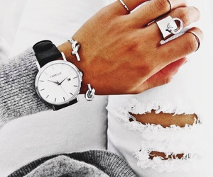 style, accessories, and watch image