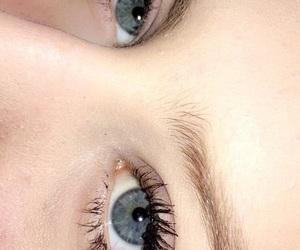 blonde, blue eyes, and eyes image