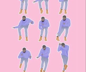 Drake, wallpaper, and pink image
