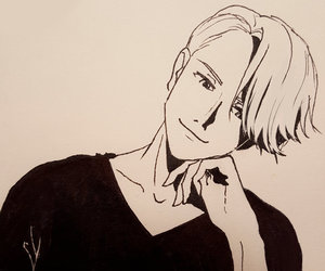 yuri on ice and victor nikiforov image