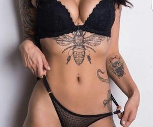 bee, girl, and sexy image