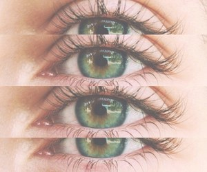 eyes, green, and eye image