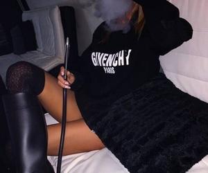 Givenchy and smoke image