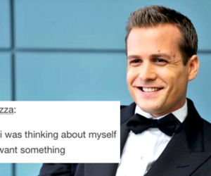 funny, harvey specter, and text post image