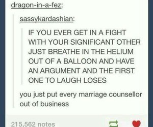 funny, marriage, and argument image