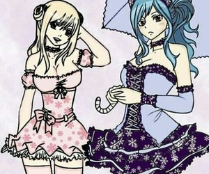 fairy tail, lucy heartfilia, and water mage image