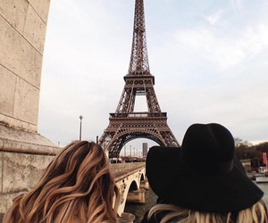 paris, travel, and friends image