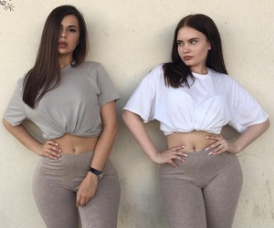 beige, best friends, and make-up image
