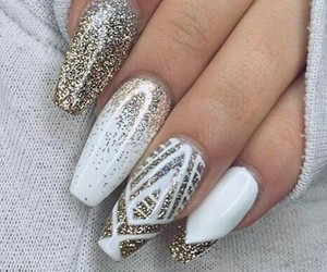 beautiful, manicure, and nail polish image