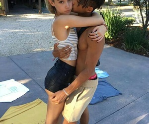 couple, jaden smith, and goals image
