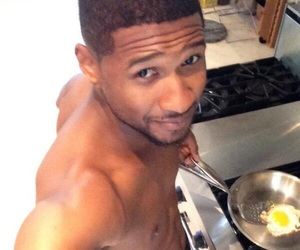 cooking, sexy, and usher image
