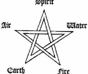 magic, pentagram, and witchcraft image