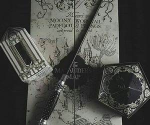 harry potter, book, and dark image