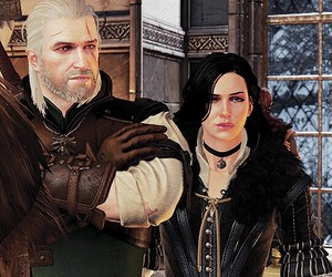 the witcher 3, geralt, and games image