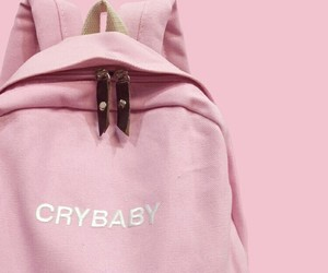 bag, crybaby, and alternative image