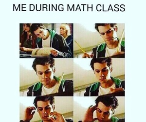 math, teen wolf, and dylan o'brien image