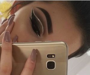 eyebrows, lashes, and eyes image