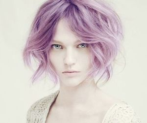hair, model, and Sasha Pivovarova image