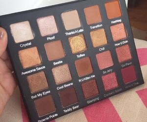 aesthetics, brown, and eyeshadow image