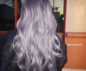 colors, purple, and hair color image