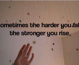 quote, rise, and stars image