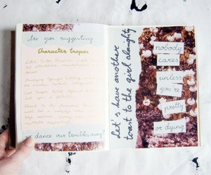journals, pictures, and diary book image